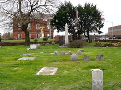 Old St. Paul's Church Burial Ground is the burial location of John Morton, signer of the Declaration of Independence