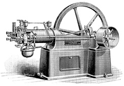 An Otto Engine from 1880s US Manufacture