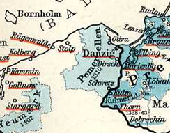 Pomerelia (Pommerellen) while part of the monastic state of the Teutonic Knights