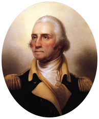 George Washington by Rembrandt Peale, De Young Museum (ca. 1850)