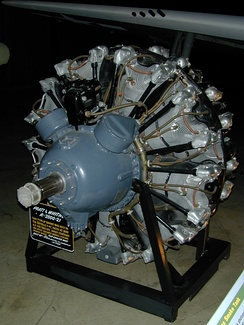 A Pratt & Whitney R-2800 engine