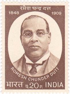 Dutt on a 1973 stamp of India