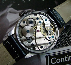 A modern bridge watch movement
