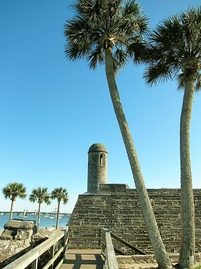 Bell tower on northeast bastion of the Castillo de San Marcos
