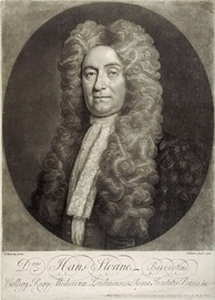 Sir Hans Sloane's collection of books and manuscripts was bequeathed to the British Museum.