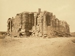 Somnath temple in ruins, 1869 CE.