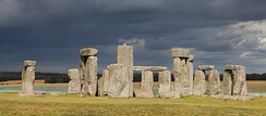 Stonehenge in the United Kingdom (Late Neolithic from 3000–2000 BC).