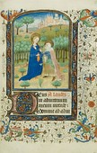 Illuminated Manuscript page from a Book of Hours, c. 1440/45