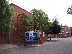Stirling Street entrance to Thebarton