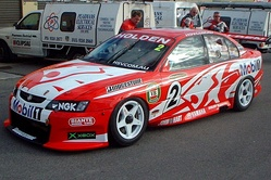 Todd Kelly's 2003 Holden VY Commodore