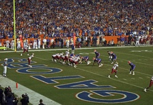 Florida State and Florida have played each year since 1958.