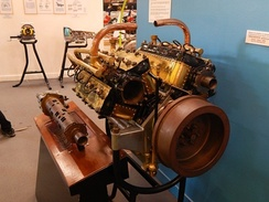 1916 Gaston Mougeotte W16 engine