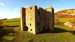 Arnside Tower, a late-medieval Pele tower in Cumbria