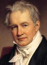 Alexander von Humboldt 1769–1859 painted by Joseph Stieler in 1843