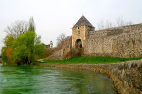 Kastel Fortress in Banja Luka, first appearing as an early Slavic hillfort or gradina