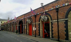 The exterior of the Pannier Market