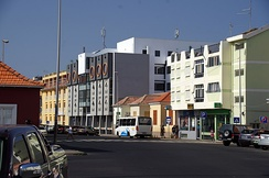 Cabral Avenue, one of the main symbols of Cape Verde's development.