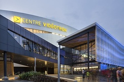 Videotron Centre is an indoor arena and is presently used as the home arena for the major junior hockey Quebec Remparts.