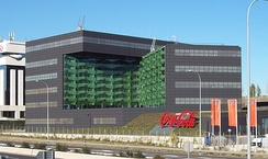 Coca-Cola Company's office building in Madrid (Spain)