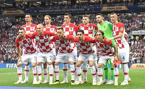 Croatia national football team came in second at the 2018 World Cup