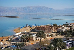 Ein Bokek, a resort on the Israeli shore