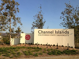 CSU Channel Islands Entrance Sign