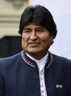 "The Bolivian government of left-wing populist Evo Morales and his Movement for Socialism has been described as the ""prototypical case"" of ethnopopulism.[64]"