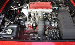 Mondial 3.2 engine bay