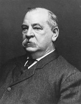 Grover Cleveland22nd & 24th U.S. President(1885–1889 & 1893–1897)