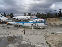 Agusta-Bell 47J Ranger at the Hellenic Air Force Museum at Dekelia (Tatoi), Athens, Greece