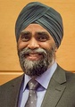 Harjit Singh Sajjan, the Minister of National Defence of Canada wearing a Sikh turban. The turban is one of the most recognized symbols of the Sikh community.