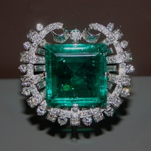 Hooker Emerald Brooch, commissioned by Tiffany in 1950