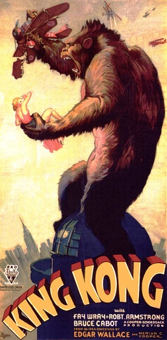The original King Kong is one of the earliest and most famous monster movies.