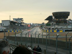 The permanent pits and pit straight for both the Circuit de la Sarthe and Bugatti Circuit