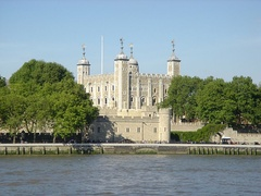 The Tower of London, England.