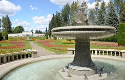 The European Duncan Garden in Manito Park and Botanical Gardens