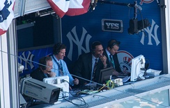 Michael Kay, Ken Singleton, and Paul O'Neill as the announcers of every New York Yankees game on YES.