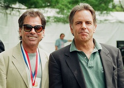 Mickey Hart and Bob Weir at the Library of Congress 200th birthday, 2000
