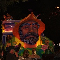 Order of Inca night parade in 2009.