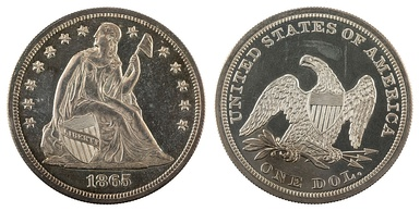 The Seated liberty dollar