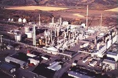 The McMahon natural gas processing plant in Taylor, British Columbia, Canada[48]