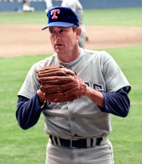 Nolan Ryan, second all-time in career games started.