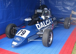 The Reynard FF83 with which Mezera won the 1985 Motorcraft Formula Ford Driver to Europe Series