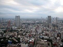 View of the Roppongi area