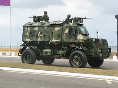 Unibuffel MK II Armored Personnel Carrier – Sri Lanka Army