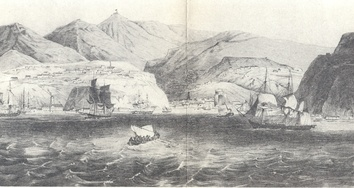 View of Valparaíso Bay (1830)