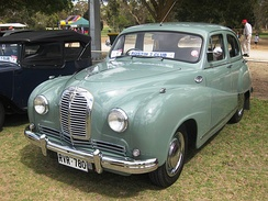 Austin A70 Hereford — October 1950
