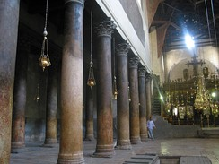 Interior of the Church of the Nativity before the latest renovations