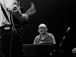 Bugge Wesseltoft (with John Scofield) at Moers Festival 2006, Germany.