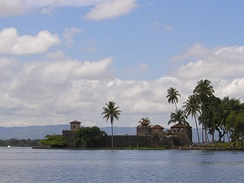 The Castillo de San Felipe was a Spanish fort that guarded the entrance to Lake Izabal.